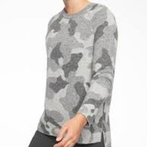 Sold out!  Athleta camouflage sweater